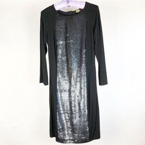Eva Franco Anthropologie Dress Size 8 Black